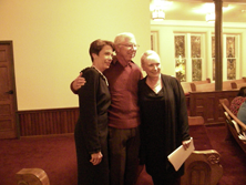 Constance Ford, Garth Baxter and Julie White  October 28, 2014  Owensboro, KY.